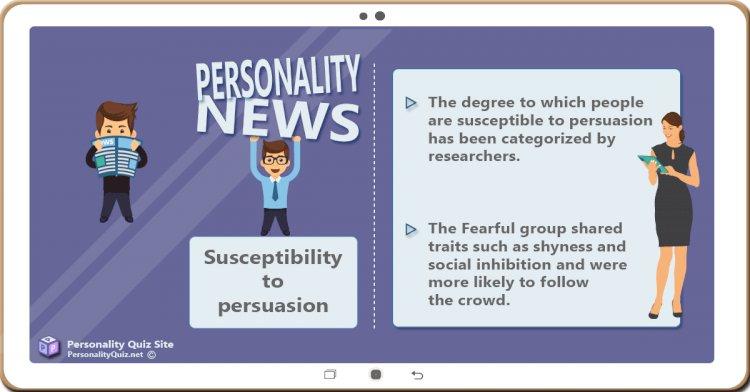 Susceptibility to persuasion