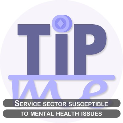 The tipping point: Service sector susceptible to mental health issues