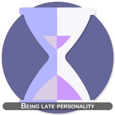 Being late personality